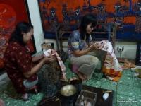 Batik : fait à la main