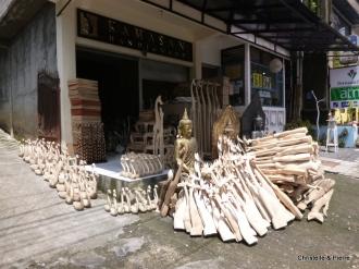 artisanat en bois